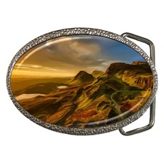 Painting Oil Painting Photo Painting Belt Buckles