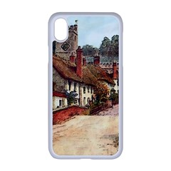 East Budleigh Devon Uk Vintage Old Iphone Xr Seamless Case (white) by Sudhe