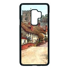 East Budleigh Devon Uk Vintage Old Samsung Galaxy S9 Plus Seamless Case(black) by Sudhe