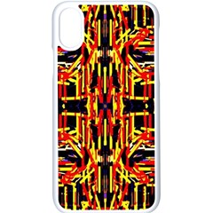 Rby-48 Iphone Xs Seamless Case (white) by ArtworkByPatrick