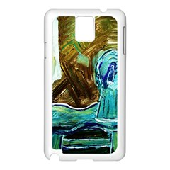 Wood Horsey 1 1 Samsung Galaxy Note 3 N9005 Case (white)
