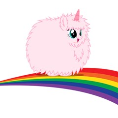 Pink Fluffy Unicorns Dancing On Rainbows Drawing Magic Photo Cube