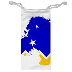 Chilean Magallanes Region Flag Map Of Antarctica Jewelry Bag by abbeyz71