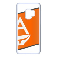 Waving Proposed Flag Of Antarctica Samsung Galaxy S9 Seamless Case(white) by abbeyz71