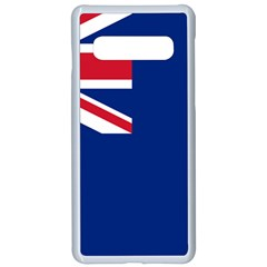 Government Ensign Of The British Antarctic Territory Samsung Galaxy S10 Seamless Case(white)