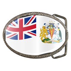Waving Flag Of The British Antarctic Territory Belt Buckles by abbeyz71
