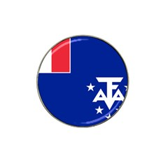 Flag Of The French Southern And Antarctic Lands, 1958 Hat Clip Ball Marker (4 Pack) by abbeyz71