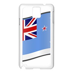 Waving Proposed Flag Of The Ross Dependency Samsung Galaxy Note 3 N9005 Case (white) by abbeyz71