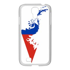 Flag Map Of Chilean Antarctic Territory Samsung Galaxy S4 I9500/ I9505 Case (white) by abbeyz71