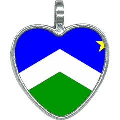 Flag Of Seward Heart Necklace by abbeyz71