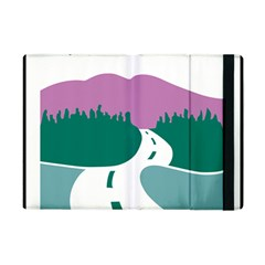 National Forest Scenic Byway Highway Marker Apple Ipad Mini Flip Case by abbeyz71
