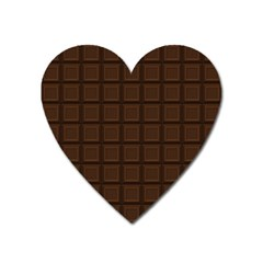 Milk Chocolate Heart Magnet by goljakoff