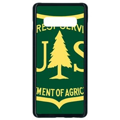 Flag Of The U S  Forest Service Samsung Galaxy S10 Plus Seamless Case (black) by abbeyz71