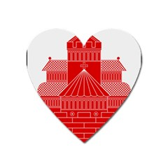 Coat Of Arms Of Helsingborg Heart Magnet by abbeyz71