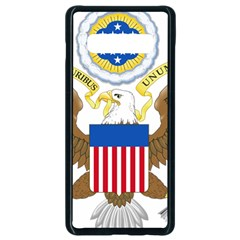 Greater Coat Of Arms Of The United States Samsung Galaxy S10 Plus Seamless Case (black)