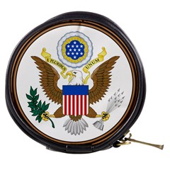 Great Seal Of The United States - Obverse Mini Makeup Bag by abbeyz71
