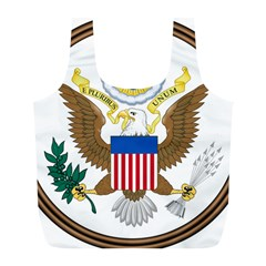 Great Seal Of The United States - Obverse Full Print Recycle Bag (l) by abbeyz71