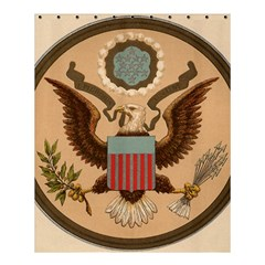 Great Seal Of The United States - Obverse Shower Curtain 60  X 72  (medium)  by abbeyz71