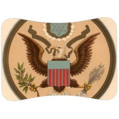 Great Seal Of The United States - Obverse Velour Seat Head Rest Cushion by abbeyz71