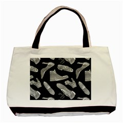 Pattern Shiny Shoes Basic Tote Bag (two Sides)