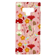 Floral Surface Pattern Design Samsung Galaxy Note 9 Tpu Uv Case