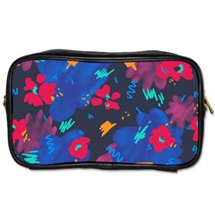 Patterns Rosebuds Toiletries Bag (two Sides)