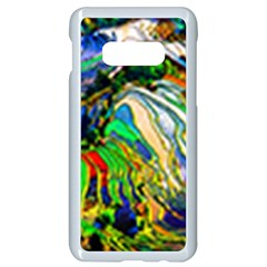 Artistic Nature Painting Samsung Galaxy S10e Seamless Case (white) by Sudhe