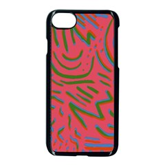 Pattern Saying Wavy Iphone 8 Seamless Case (black)