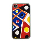Pattern And Decoration Revisited At The East Side Galleries iPhone 4 Case (Clear) Front