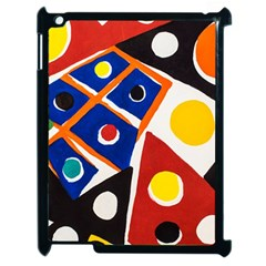 Pattern And Decoration Revisited At The East Side Galleries Apple Ipad 2 Case (black)