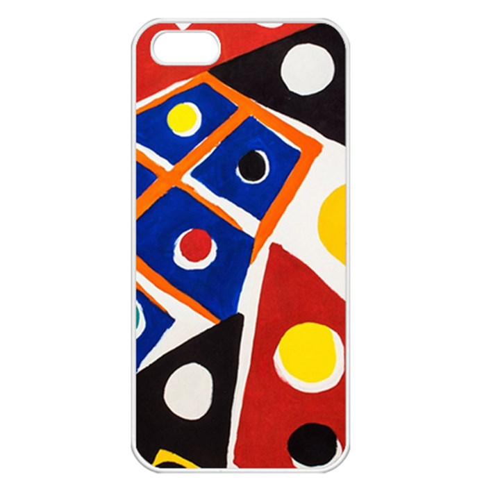 Pattern And Decoration Revisited At The East Side Galleries iPhone 5 Seamless Case (White)