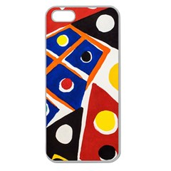 Pattern And Decoration Revisited At The East Side Galleries Apple Seamless Iphone 5 Case (clear)