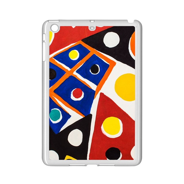 Pattern And Decoration Revisited At The East Side Galleries iPad Mini 2 Enamel Coated Cases