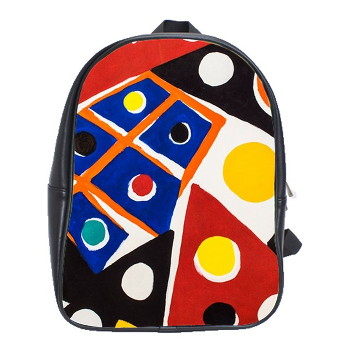 Pattern And Decoration Revisited At The East Side Galleries School Bag (XL)