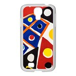 Pattern And Decoration Revisited At The East Side Galleries Samsung GALAXY S4 I9500/ I9505 Case (White) Front