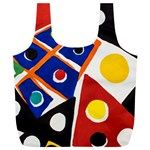 Pattern And Decoration Revisited At The East Side Galleries Full Print Recycle Bag (XL) Back