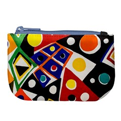 Pattern And Decoration Revisited At The East Side Galleries Large Coin Purse by Sudhe