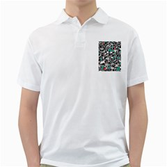 Illustration Abstract Pattern Golf Shirt