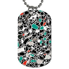 Illustration Abstract Pattern Dog Tag (two Sides)