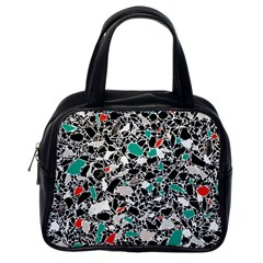 Illustration Abstract Pattern Classic Handbag (one Side)
