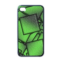 Binary Digitization Null Green Iphone 4 Case (black)