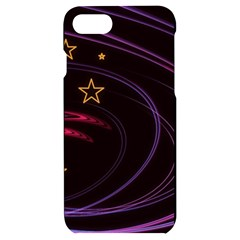 Background Abstract Star Iphone 7/8 Black Uv Print Case