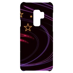 Background Abstract Star Samsung S9 Plus Black Uv Print Case