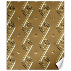 Gold Background 3d Canvas 8  X 10