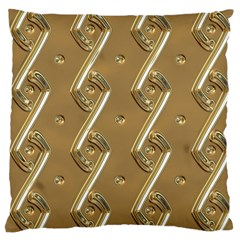 Gold Background 3d Large Cushion Case (one Side)