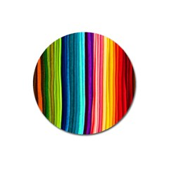 Colorful-57 Magnet 3  (round) by ArtworkByPatrick