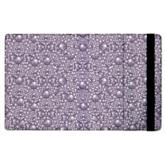 Baroque Pearls And Fauna Ornate Mandala Apple Ipad 3/4 Flip Case by pepitasart