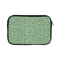 Baroque Green Pearls Ornate Bohemian Apple Ipad Mini Zipper Cases