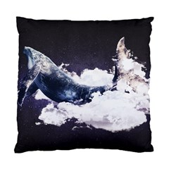 Space Whale Standard Cushion Case (two Sides) by goljakoff