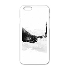 Blue Whale Iphone 6/6s White Enamel Case by goljakoff